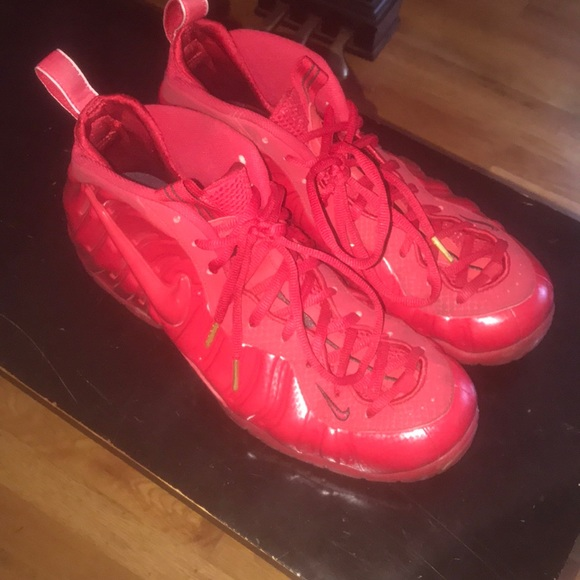Nike Shoes | Size 4 Foamposite Red